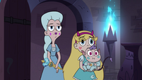S4E35 Star, Moon, and Meteora observe Eclipsa