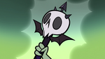 S1E3 Skull-shaped magic wand