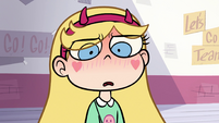 S1E4 Star Butterfly blushing uncomfortably