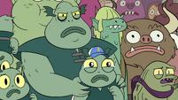 S4E36 Buff Frog protecting his tadpoles