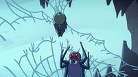 S2E2 Giant spider plummets to the ground