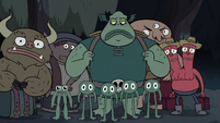 S3E31 Buff Frog and monsters about to leave Mewni