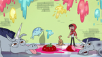 S3E37 Marco surrounded by defeated spells