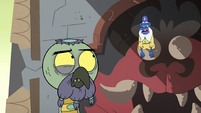S2E35 Glossaryck sighing exasperatedly