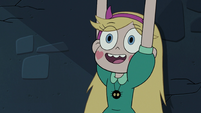 S3E7 Star Butterfly happy to see Marco Diaz