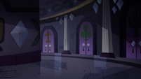 S4E21 Circular hallway of other spells' room