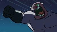 S1E10 Warthog monster attacking