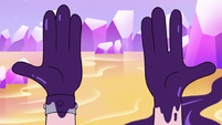 S3E37 Star's hands stained with black water
