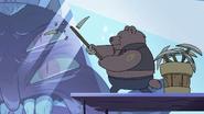 S4E1 Bear monster breaks his pickaxe