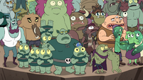 S4E36 Monsters of Mewni gathered at the cliff