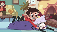 S2E36 Marco Diaz pins Miss Heinous to the floor