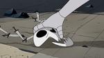 S2E41 Queen Moon picks up Omnitraxus' mask