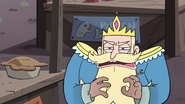 S4E1 King Butterfly muttering with anger