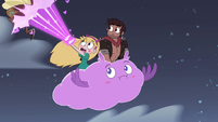 S4E28 Star blasting away a giant roach