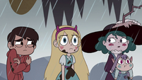 S4E36 Marco and Eclipsa look over at Star