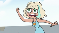 S3E13 Jackie shaking her fist at the seagull