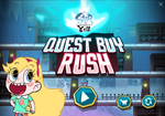 Quest Buy Rush title screen