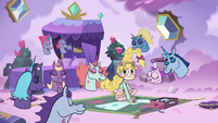 S3E21 Pony sisters consider Star part of the family