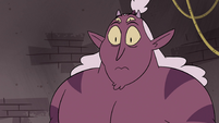 S4E24 Globgor in wide-eyed surprise