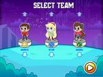 Disney XD Hero Trip team select screen