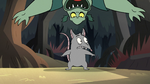 S2E12 Buff Frog sneaks up on Mewnian rat