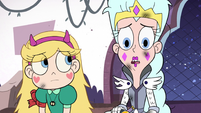 S3E1 Queen Moon telling Star Butterfly the story