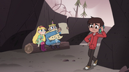 S4E1 Star and River look at the map