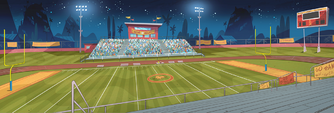 School Spirit background - Football field 2