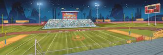 School Spirit background - Football field 2