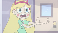 S3E11 Star Butterfly making a wand shape