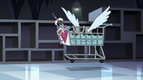 S4E11 Shopping cart containing Star's desires