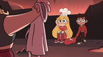 S4E2 Star Butterfly puts on the chef's hat