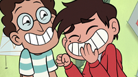S1E12 Marco and Alfonzo laughing