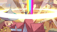 S1E3 Blast of magic behind the Diaz house