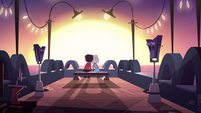 S3E13 Marco and Jackie watching the sunset
