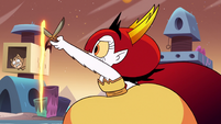 S3E22 Hekapoo opening another dimensional portal