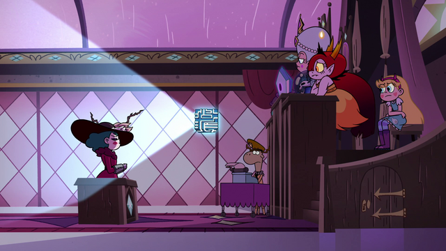 File:S3E29 Eclipsa facing the Magic High Commission.png