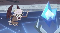 S4E13 Relicor shakes his fist at Severing Stone