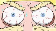S2E10 Close-up on King Butterfly's bloodshot eyes