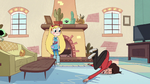 S2E11 Marco Diaz falls face-first on the floor