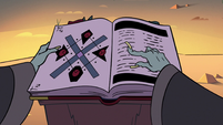 S3E12 Head demoncist reading from his book