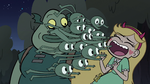 S3E31 Buff Frog's tadpoles tackle Star again