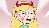 S4E1 Star Butterfly narrows her eyes