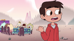 S2E15 Marco Diaz pointing at the kids' table