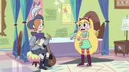 S2E40 Star Butterfly talking to Ruberiot