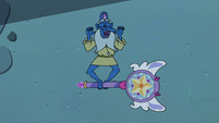 S3E11 Glossaryck sticks his tongue out at Star