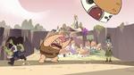 S3E17 Three-eyed Potato Baby tossing a village hut