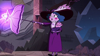 S3E38 Eclipsa blasting the temple walls away