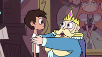 S3E8 King Butterfly saying goodbye to Marco Diaz