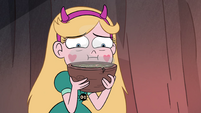 S4E28 Star Butterfly grossed out by the food